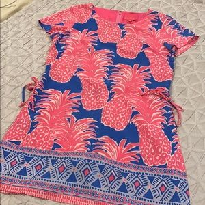 Lilly Pulitzer Pineapple Skort Dress